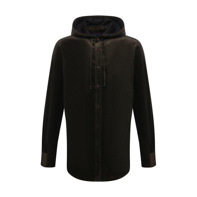 Хлопковая рубашка Ralph Lauren 12252646