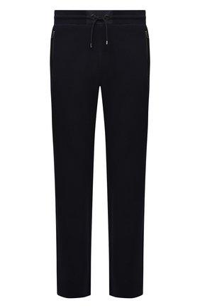 Мужские хлопковые брюки BOGNER темно-синего цвета, арт. 18856543 | Фото 1 (Длина (брюки, джинсы): Стандартные; Материал внешний: Хлопок; Кросс-КТ: Спорт; Мужское Кросс-КТ: Брюки-трикотаж; Стили: Спорт-шик)