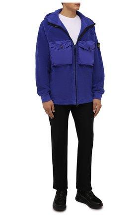 Мужские кожаные кроссовки DOUCAL'S черного цвета, арт. DU2625JUSTPV449NN02 | Фото 2 (Материал внутренний: Текстиль, Натуральная кожа; Подошва: Массивная; Стили: Классический)