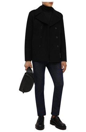 Мужские кожаные дерби VIC MATIE черного цвета, арт. 1W3064U.W90W890101 | Фото 2 (Материал внутренний: Натуральная кожа; Стили: Классический)