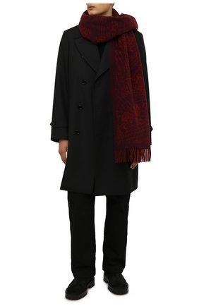 Мужские замшевые челси VIC MATIE черного цвета, арт. 1W3066U.W90W150101 | Фото 2 (Материал внутренний: Натуральная кожа; Материал внешний: Замша; Мужское Кросс-КТ: Сапоги-обувь, Челси-обувь; Подошва: Массивная)