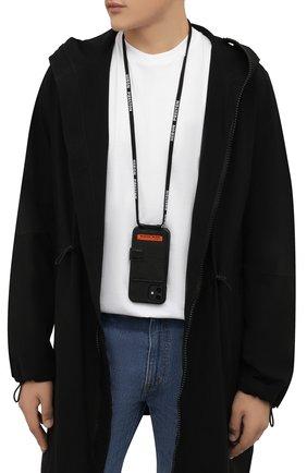 Кожаный чехол для iphone 12 pro max HERON PRESTON черного цвета, арт. HMPA015F21LEA0011022 | Фото 2
