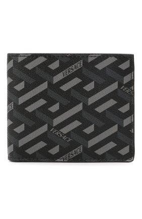 Мужской портмоне VERSACE серого цвета, арт. DPU2463/1A01974 | Фото 1 (Материал: Пластик)