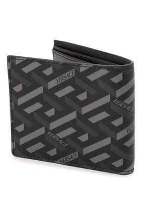 Мужской портмоне VERSACE серого цвета, арт. DPU2463/1A01974 | Фото 2 (Материал: Пластик)