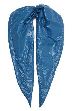 Женский утепленная косынка TAK.ORI синего цвета, арт. SCT90070PL100AW21 | Фото 1 (Материал: Синтетический материал, Текстиль)