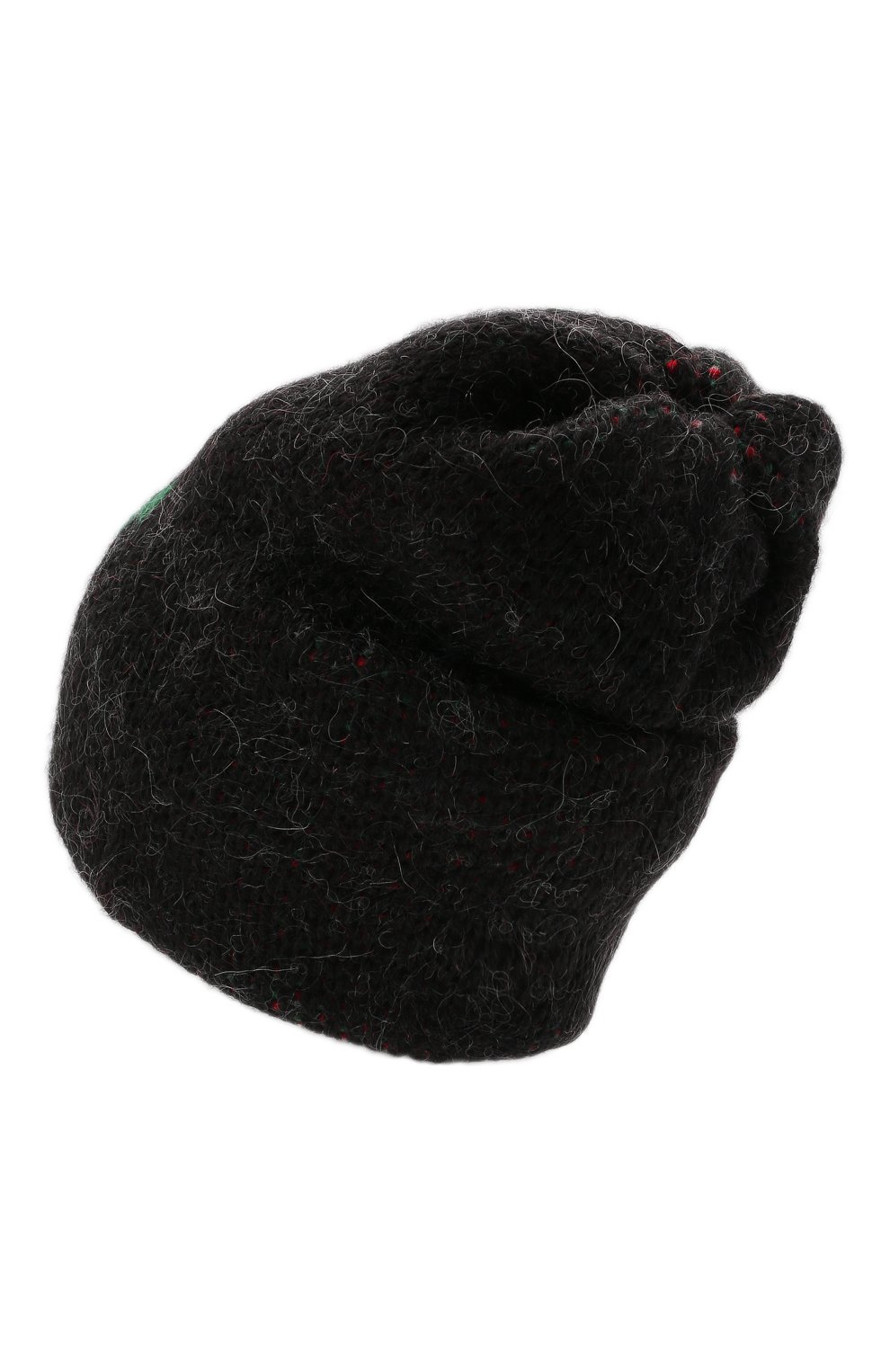 Женская шапка TAK.ORI черного цвета, арт. HTK51042WP037AW19   Фото 3 (Материал: Текстиль, Шерсть, Синтетический материал)