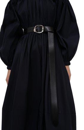 Женский ремень ALEXANDER MCQUEEN черного цвета, арт. 678961/1BR0Y | Фото 2