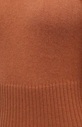 Женское кашемировое платье ZIMMERMANN бежевого цвета, арт. 1974DRC0N | Фото 5 (Материал внешний: Шерсть, Кашемир; Рукава: Длинные; Случай: Повседневный; Длина Ж (юбки, платья, шорты): Миди; Женское Кросс-КТ: Платье-одежда; Стили: Кэжуэл)
