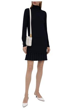 Платье из шерсти и вискозы | Фото №2