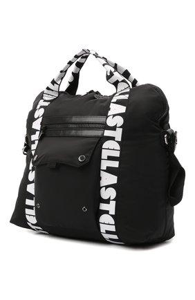 Детская сумка STELLA MCCARTNEY черного цвета, арт. 603474/SRD10   Фото 2 (Материал: Текстиль)