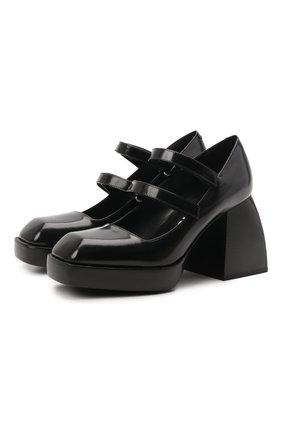 Кожаные туфли Bulla Babies | Фото №1