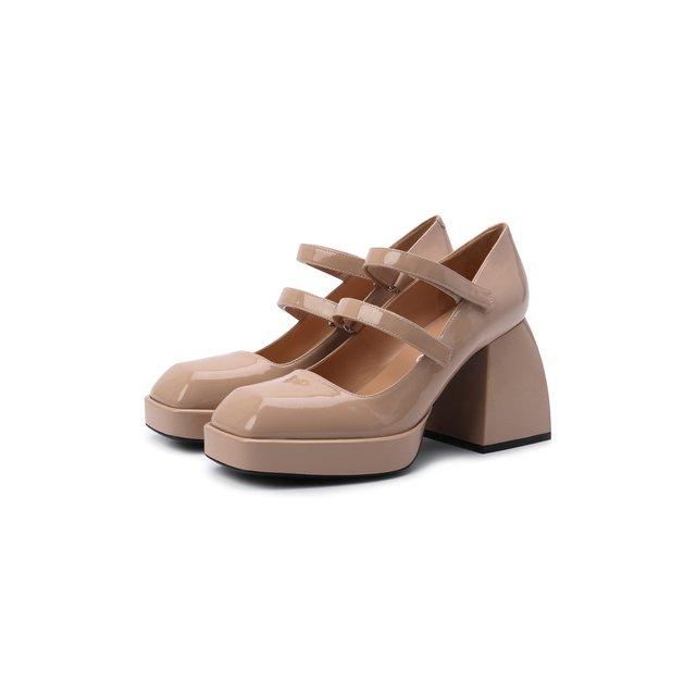 Кожаные туфли Bulla Babies Nodaleto