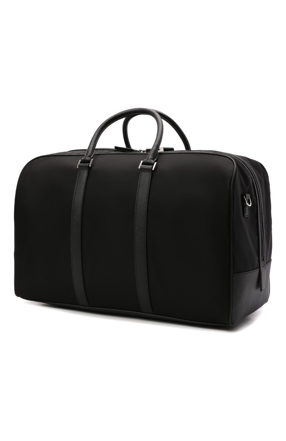 Мужская дорожная сумка PRADA черного цвета, арт. 2VC007-2DMH-F0002-SOO | Фото 3 (Материал: Текстиль)