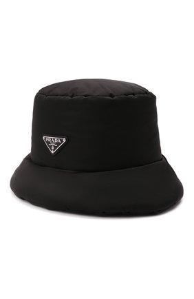 Мужская панама PRADA черного цвета, арт. 2HC248-IYK-F0002 | Фото 1 (Материал: Текстиль, Синтетический материал)