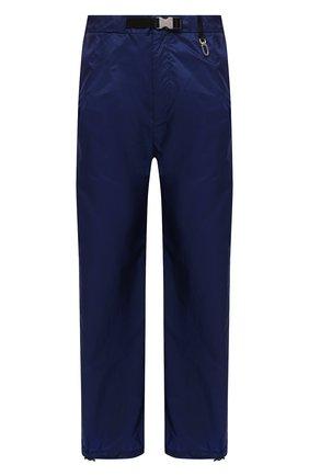 Мужские брюки PRADA синего цвета, арт. SPH151-1WQ9-F0216-212   Фото 1 (Материал внешний: Синтетический материал; Случай: Повседневный; Стили: Спорт-шик)