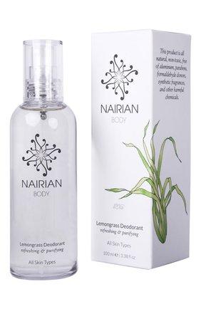 Дезодорант с эфирным маслом лемонграсса (100ml) NAIRIAN бесцветного цвета, арт. 4850017820858   Фото 1