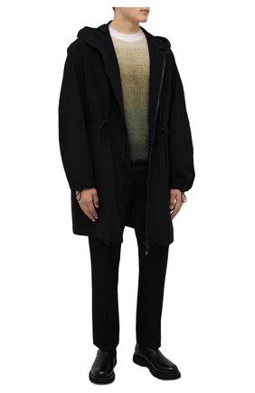 Мужские кожаные челси W.GIBBS черного цвета, арт. 2999010/2527 | Фото 2 (Подошва: Плоская; Материал внутренний: Натуральная кожа; Мужское Кросс-КТ: Сапоги-обувь, Челси-обувь)
