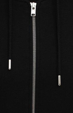 Мужской хлопковая толстовка KENZO черного цвета, арт. FB65BL7254XA   Фото 5 (Рукава: Длинные; Мужское Кросс-КТ: Толстовка-одежда; Длина (для топов): Стандартные; Материал внешний: Хлопок; Стили: Спорт-шик)