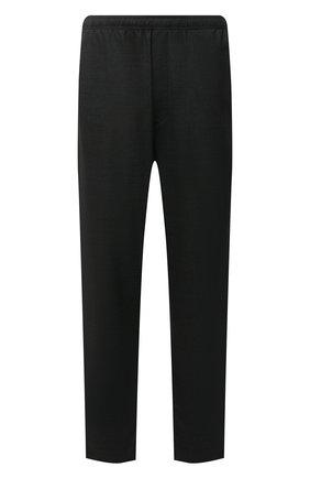 Мужские шерстяные брюки ACNE STUDIOS темно-серого цвета, арт. BK0413   Фото 1 (Материал внешний: Шерсть; Длина (брюки, джинсы): Стандартные; Случай: Повседневный; Стили: Кэжуэл)