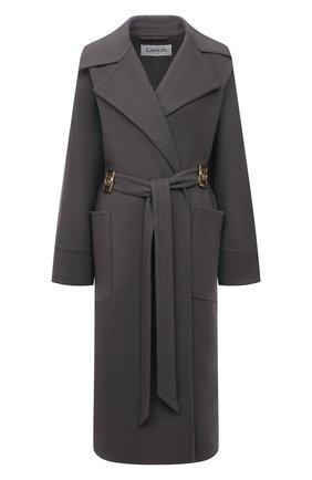 Пальто из шерсти шелка   Фото №1