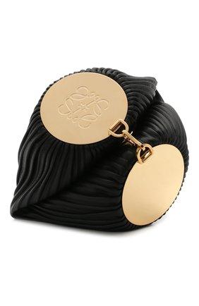 Женская сумка bracelet LOEWE черного цвета, арт. C912P84X02 | Фото 1 (Материал: Натуральная кожа; Сумки-технические: Сумки top-handle; Размер: small)