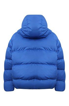 Детская пуховая куртка BACON YOUNG голубого цвета, арт. BKW1/BACPIGIA184/NEW CL0UD   Фото 2 (Материал подклада: Синтетический материал; Материал утеплителя: Пух и перо; Материал внешний: Синтетический материал; Рукава: Длинные; Девочки Кросс-КТ: Пуховик-верхняя одежда; Кросс-КТ: Сезон: зима)
