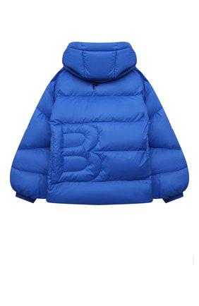 Детская пуховая куртка BACON YOUNG голубого цвета, арт. BKW1/BACPIGIA189/D0UBLE B   Фото 2 (Материал внешний: Синтетический материал; Материал подклада: Синтетический материал; Материал утеплителя: Пух и перо; Рукава: Длинные; Девочки Кросс-КТ: Пуховик-верхняя одежда; Кросс-КТ: Сезон: зима)