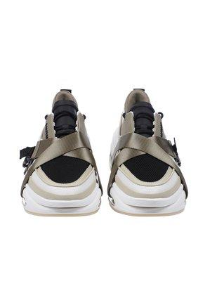Мужские кроссовки b-bold BALMAIN хаки цвета, арт. WM0VI278TSHT/ | Фото 2 (Материал внешний: Текстиль; Стили: Гранж)