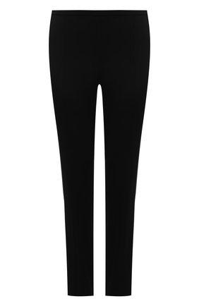 Женские брюки из вискозы THE ROW черного цвета, арт. 5922W2122 | Фото 1 (Материал внешний: Вискоза; Длина (брюки, джинсы): Стандартные; Случай: Формальный; Женское Кросс-КТ: Брюки-одежда; Стили: Классический)