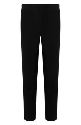 Мужские шерстяные брюки ACNE STUDIOS черного цвета, арт. BK0404   Фото 1 (Материал внешний: Шерсть; Длина (брюки, джинсы): Стандартные; Случай: Повседневный; Стили: Кэжуэл)