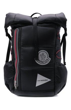 Мужской рюкзак 2 moncler 1952 moncler genius x and wander MONCLER GENIUS черного цвета, арт. G2-092-5A600-00-M1402 | Фото 1 (Ремень/цепочка: На ремешке; Материал: Текстиль)