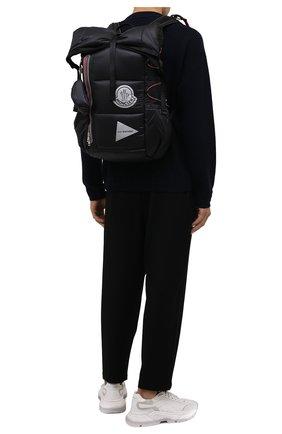 Мужской рюкзак 2 moncler 1952 moncler genius x and wander MONCLER GENIUS черного цвета, арт. G2-092-5A600-00-M1402 | Фото 2 (Ремень/цепочка: На ремешке; Материал: Текстиль)