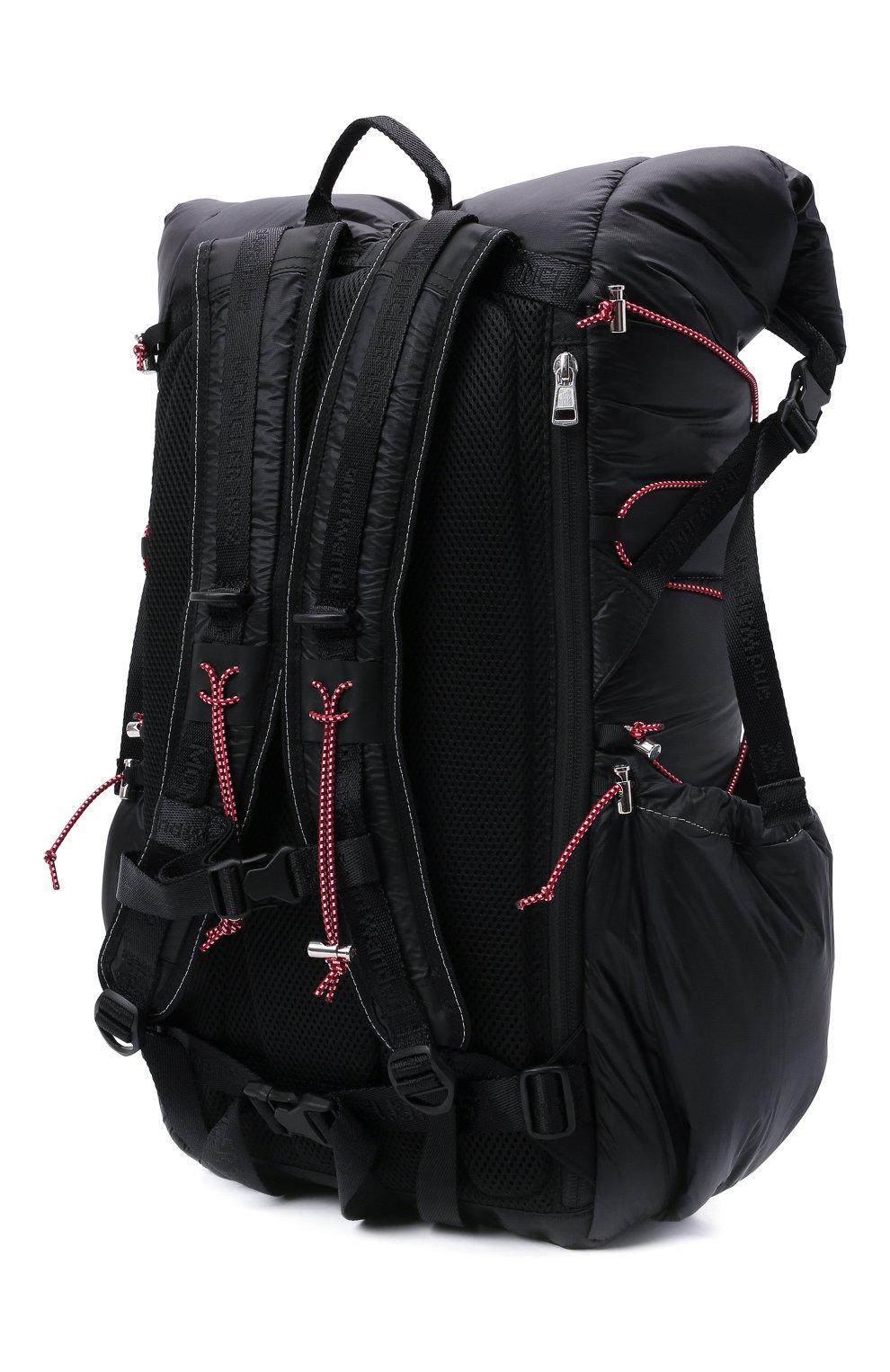 Мужской рюкзак 2 moncler 1952 moncler genius x and wander MONCLER GENIUS черного цвета, арт. G2-092-5A600-00-M1402 | Фото 3 (Ремень/цепочка: На ремешке; Материал: Текстиль)