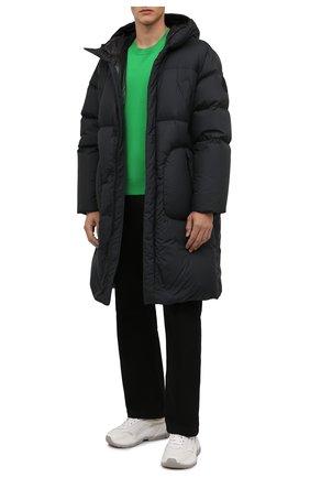 Мужская пуховик fussa 2 moncler 1952 MONCLER GENIUS черного цвета, арт. G2-092-1C000-05-54A81 | Фото 2 (Материал подклада: Синтетический материал; Материал утеплителя: Пух и перо; Рукава: Длинные; Материал внешний: Синтетический материал; Длина (верхняя одежда): До колена; Кросс-КТ: Куртка; Мужское Кросс-КТ: пуховик-длинный; Стили: Гранж)