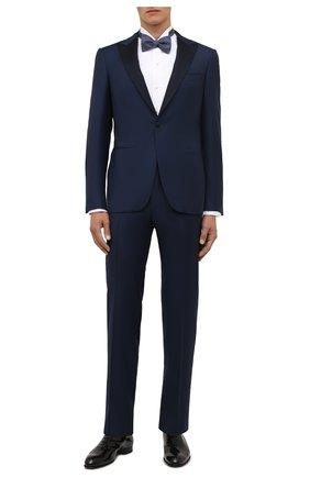 Мужские кожаные оксфорды BRIONI черного цвета, арт. QEH40L/09707 | Фото 2 (Материал внутренний: Натуральная кожа; Стили: Классический; Мужское Кросс-КТ: Вечерняя обувь)