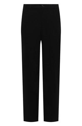 Мужские хлопковые брюки JACQUEMUS черного цвета, арт. 216PA008-1120 | Фото 1 (Длина (брюки, джинсы): Стандартные; Материал внешний: Хлопок; Случай: Повседневный; Стили: Минимализм)