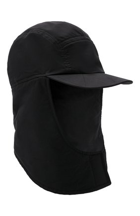Мужская шапка-балаклава la cagoule JACQUEMUS черного цвета, арт. 216AC203-5050 | Фото 1 (Материал: Синтетический материал, Хлопок, Текстиль)