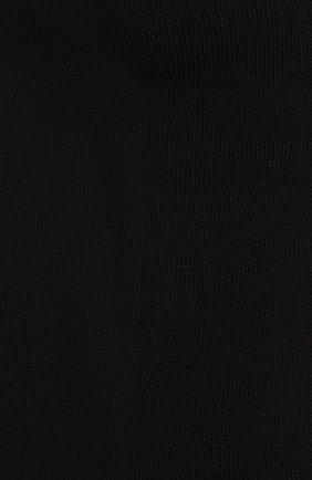 Мужские хлопковые носки JACQUEMUS черного цвета, арт. 216AC003-5000 | Фото 2 (Материал внешний: Хлопок; Кросс-КТ: бельё)