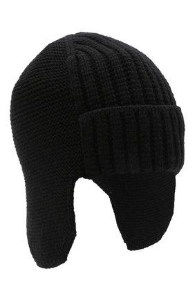 Мужская шапка CANOE черного цвета, арт. 3447921 | Фото 1 (Материал: Синтетический материал, Текстиль, Шерсть; Кросс-КТ: Трикотаж)