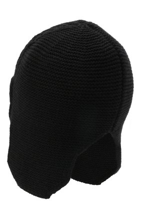 Мужская шапка CANOE черного цвета, арт. 3447921 | Фото 2 (Материал: Синтетический материал, Текстиль, Шерсть; Кросс-КТ: Трикотаж)