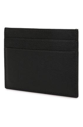 Мужской кожаный футляр для кредитных карт BALENCIAGA черного цвета, арт. 594309/2101A | Фото 2