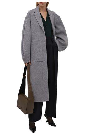 Пальто из шерсти и кашемира   Фото №2