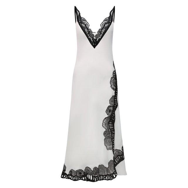 Платье из вискозы Jil Sander