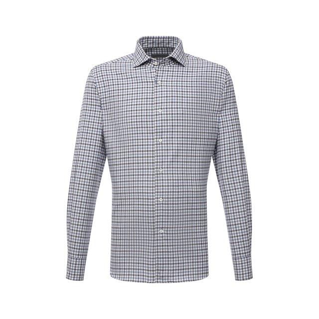 Хлопковая рубашка Corneliani 12264581