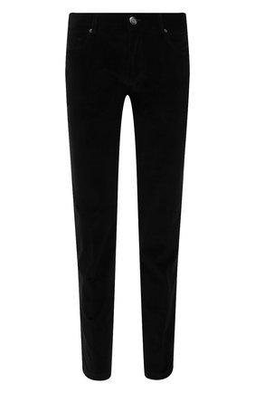 Мужские хлопковые брюки CORNELIANI черного цвета, арт. 884L01-1818502/00 | Фото 1 (Материал внешний: Хлопок; Случай: Повседневный; Стили: Кэжуэл; Длина (брюки, джинсы): Стандартные)