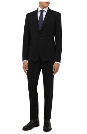 Мужская хлопковая сорочка VAN LAACK белого цвета, арт. RIVARA-TF05/131540 | Фото 2 (Материал внешний: Хлопок; Случай: Формальный; Рукава: Длинные; Принт: Однотонные; Рубашки М: Regular Fit; Манжеты: На пуговицах; Стили: Классический; Воротник: Акула; Длина (для топов): Стандартные)