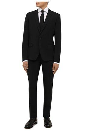 Мужская хлопковая сорочка VAN LAACK белого цвета, арт. RIVARA-LTF/161914 | Фото 2 (Материал внешний: Хлопок; Случай: Формальный; Рукава: Длинные; Принт: Однотонные; Рубашки М: Slim Fit; Манжеты: На пуговицах; Стили: Классический; Воротник: Акула; Длина (для топов): Стандартные)