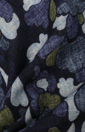 Мужской шерстяной платок VAN LAACK темно-синего цвета, арт. M-LE0N/Z10352 | Фото 2 (Материал: Шерсть)