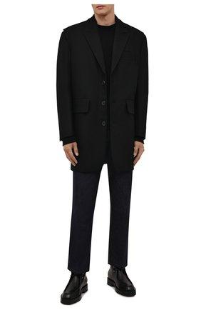 Мужские кожаные ботинки GIVENCHY черного цвета, арт. BH6037H0Z9   Фото 2 (Материал внутренний: Натуральная кожа; Подошва: Плоская; Мужское Кросс-КТ: Ботинки-обувь)