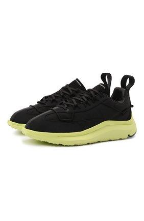Мужские текстильные кроссовки shiku run Y-3 черного цвета, арт. GZ9139/M | Фото 1 (Материал внутренний: Натуральная кожа, Текстиль; Материал внешний: Текстиль; Подошва: Массивная; Стили: Спорт)